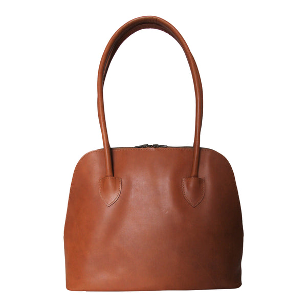 CollardManson Bowling Bag -  Tan