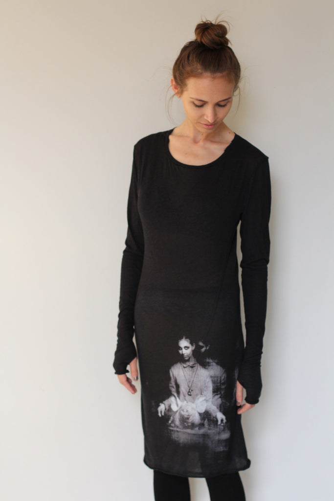 Window Dressing The Soul- Dress with Pig Image