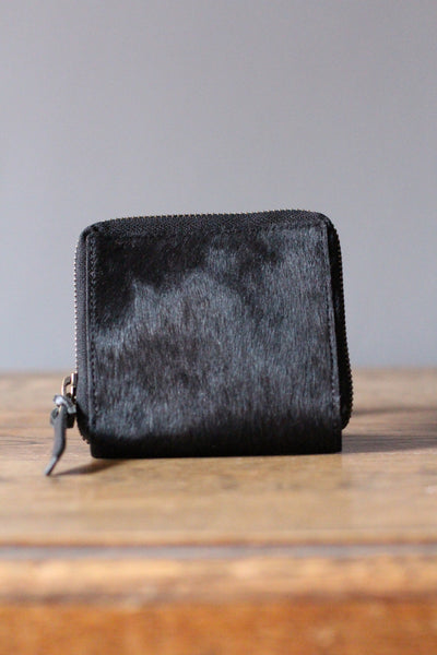 CollardManson Hair-on Square Wallet