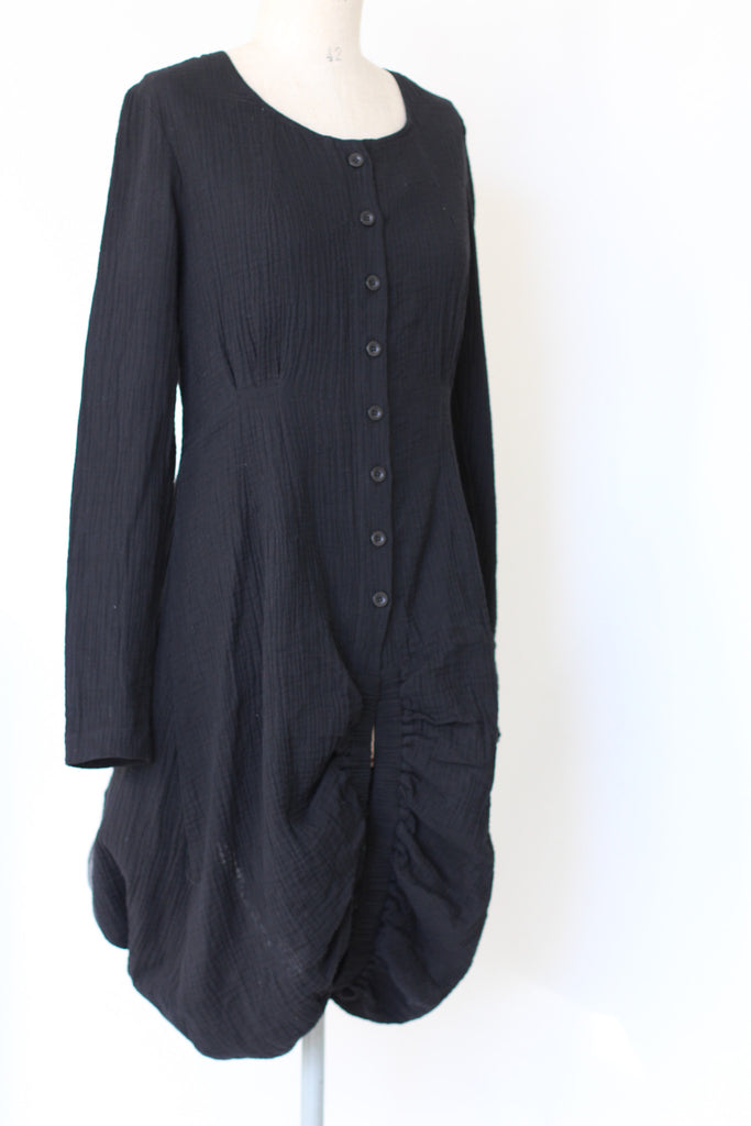 CollardManson Button Cotton Coat