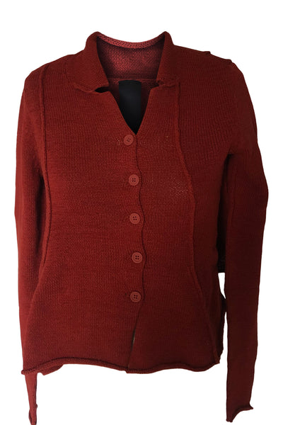 Rundholz SS21 3727104 Cardigan - Berry