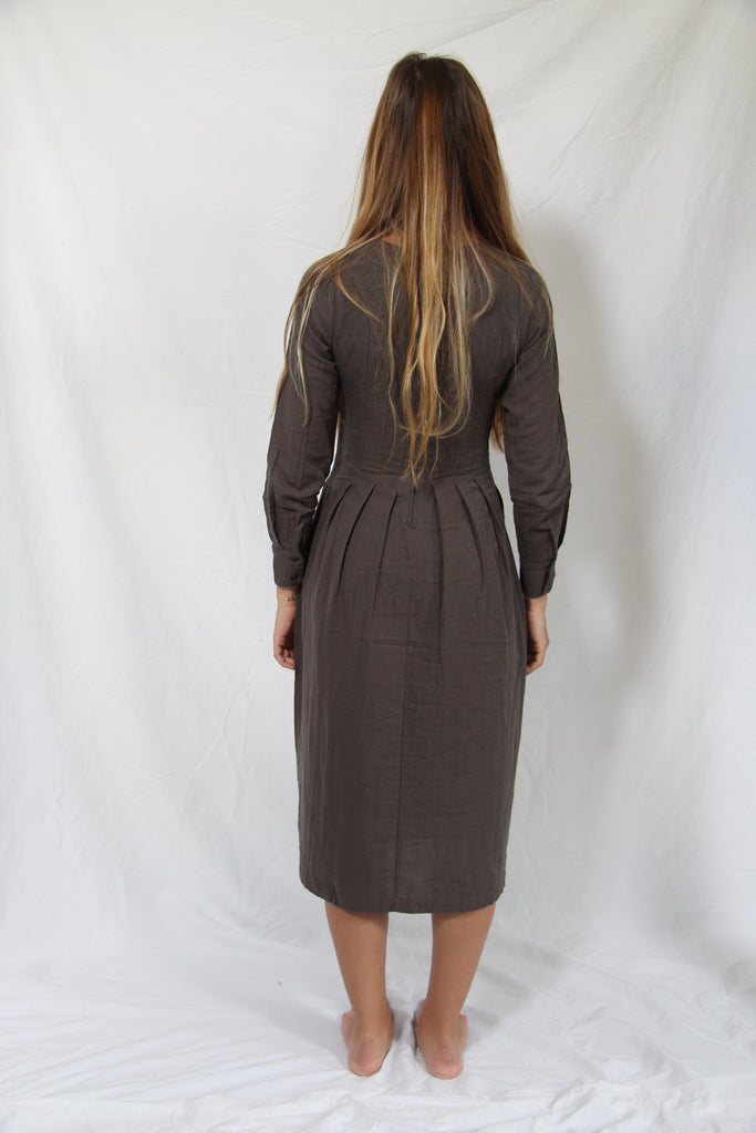 WDTS AW19 - Tilly dress - Olive