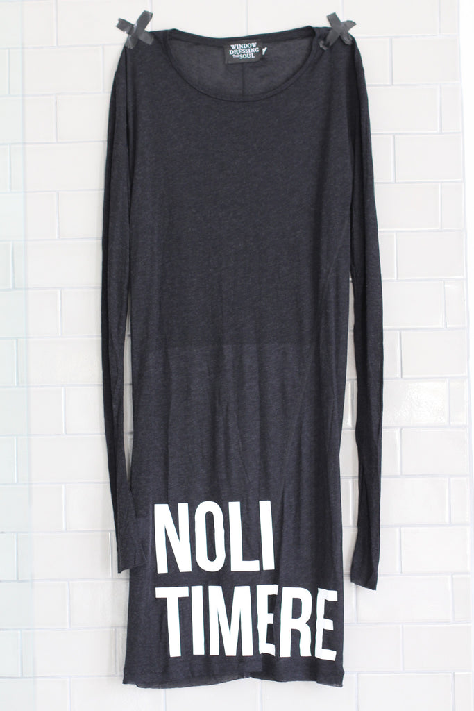 Window Dressing The Soul- Noli Timere Dress