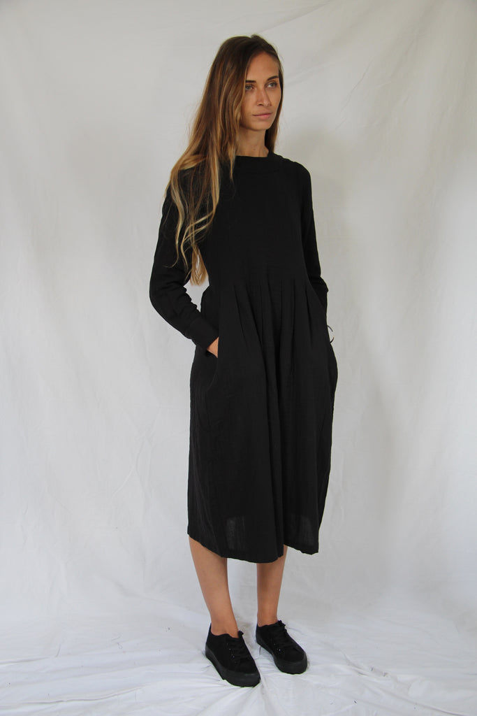 WDTS AW19 - Tilly dress - Black