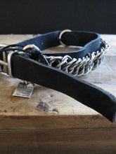 Goti 925 Silver and leather bracelet BR188
