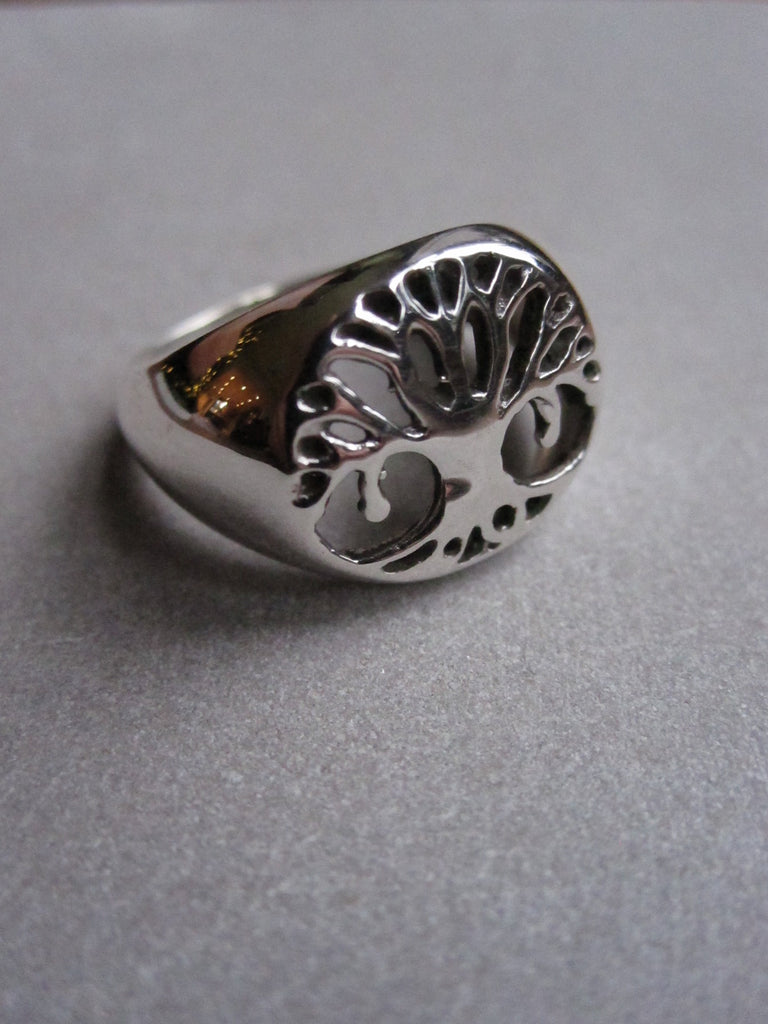 Tree of Life ring - silver