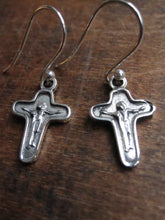 WDTS Jesus on the cross earrings.