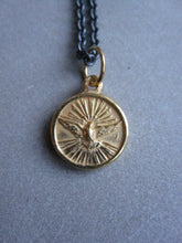 WDTS Dove of Peace necklace - gold plated pendant