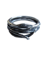 Birds Nest 925 Silver ring
