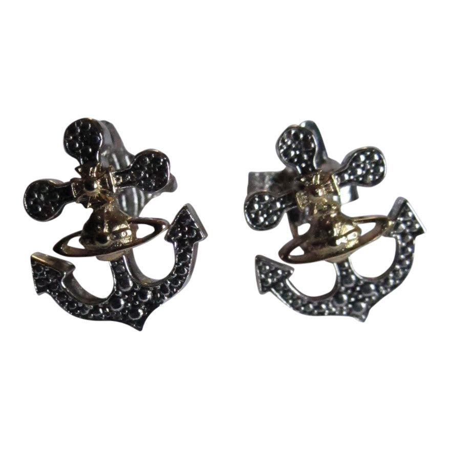 Vivienne Westwood Marietta Earrings- Antique Rhodium