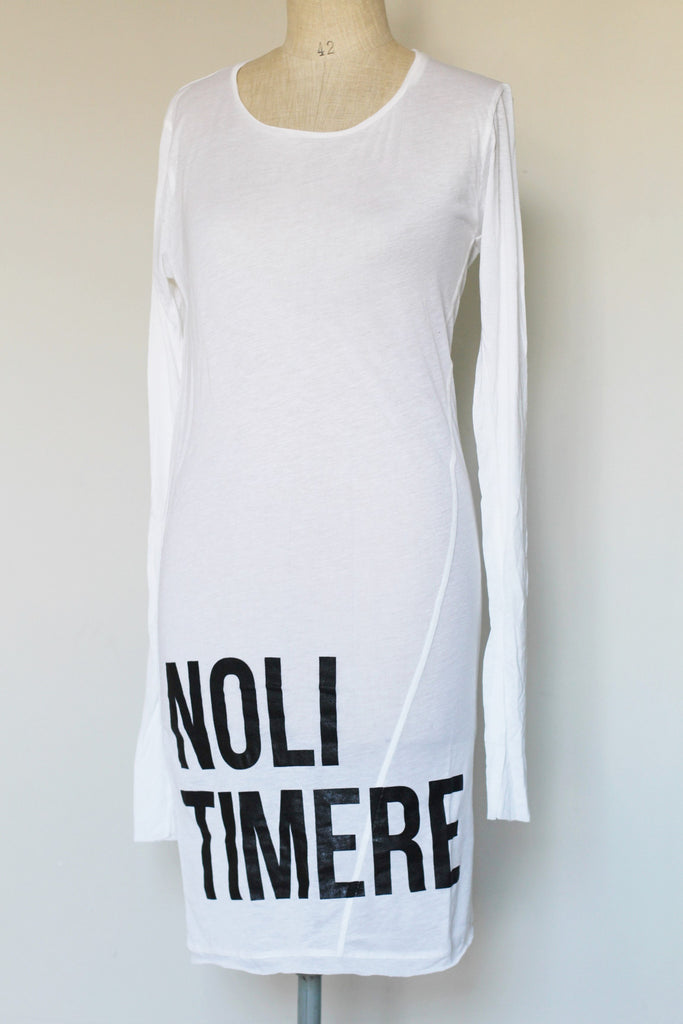 Window Dressing The Soul- Noli Timere White Dress