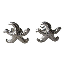 925 Silver Starfish Stud Earrings