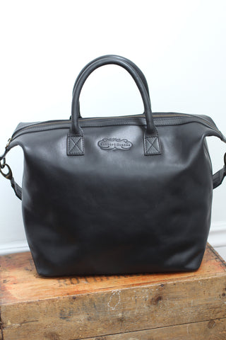 CollardManson leather Bag - Elke Black