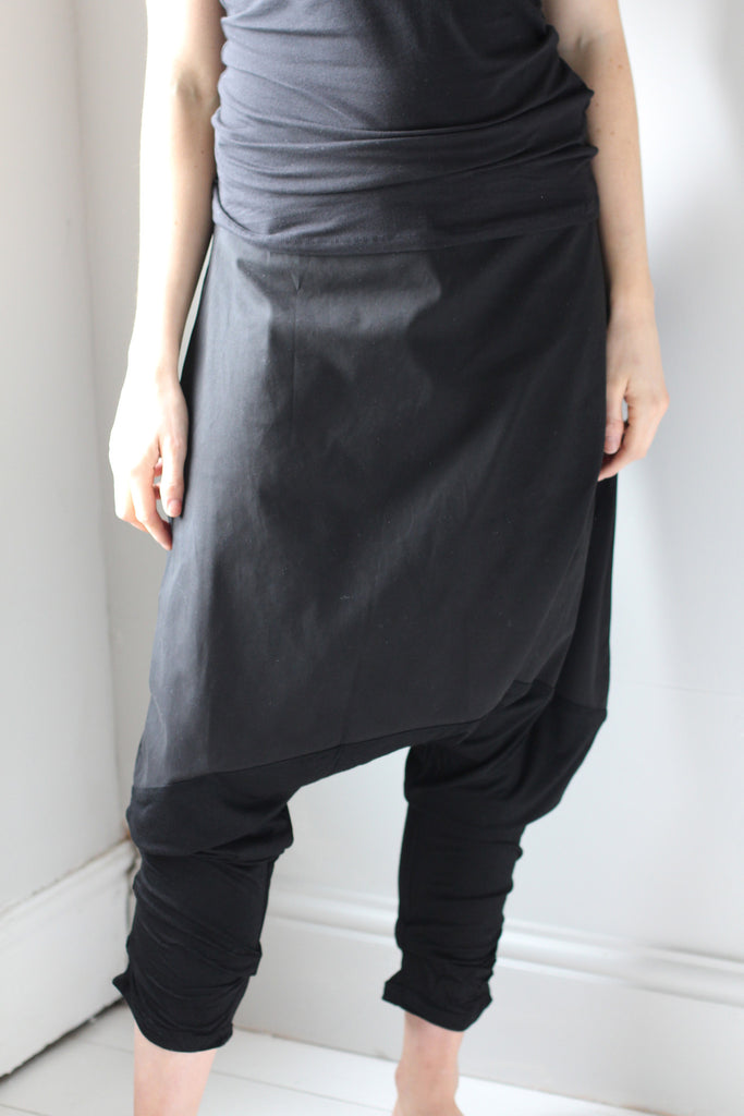 CollardManson drop crotch trousers