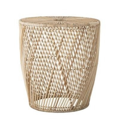 Abeline Sidetable, Nature, Rattan