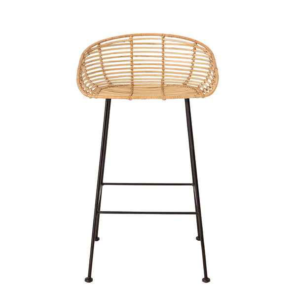 Tabitta Bar Stool, Nature, Rattan