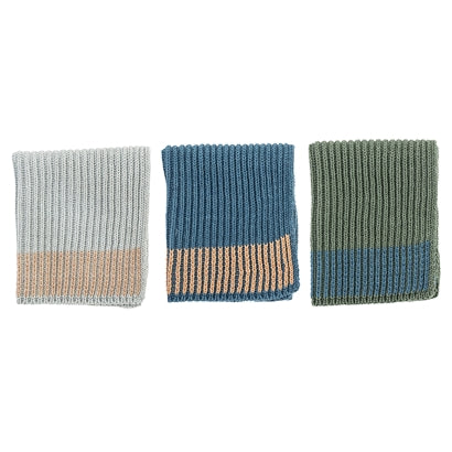 Dishcloth, Multi-colour, blue/green