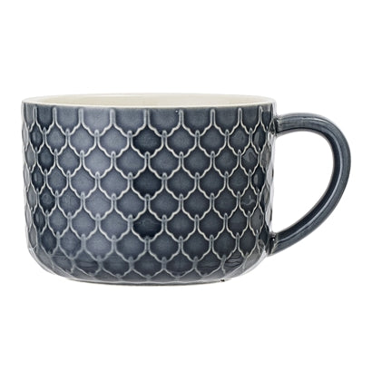 Naomi Mug - Blue, Stoneware set of 4