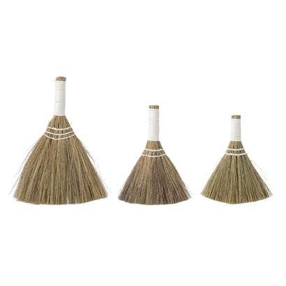 Broom, Nature, Seagrass - set of 3