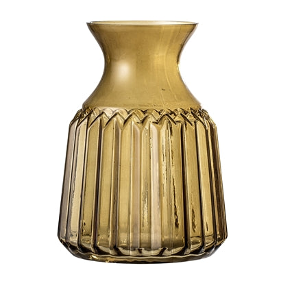 Brown Glass Vase