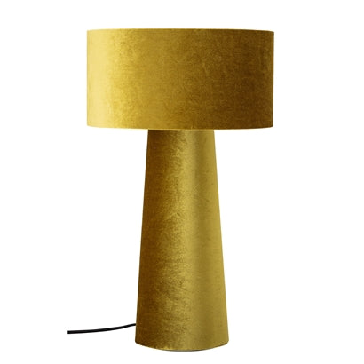 Table lamp, Yellow,
