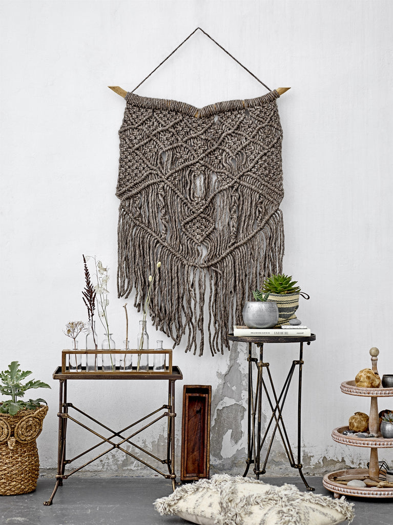 Wall Hanging- Grey Wool
