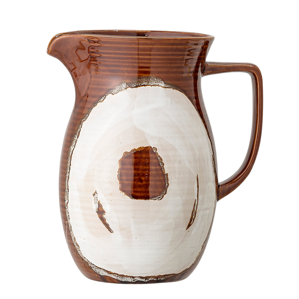 Willow Jug, Multi-color, Stoneware