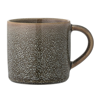 Ella Mug - Green Stoneware - set of 2