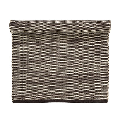 Rug, Brown, Wool