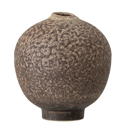 Brown Stoneware Vase