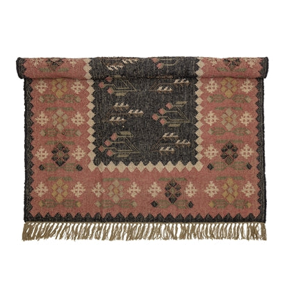 Multi-colour Rug - Jute 180x125