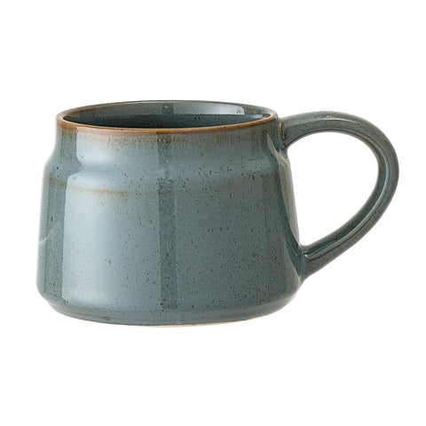 Pixie Mug- Green/blue Stoneware