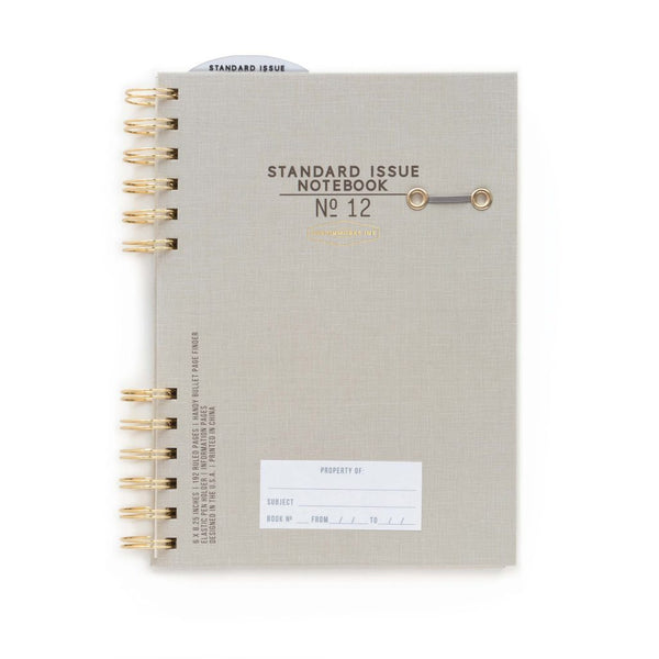 Standard Issue Notebook No12