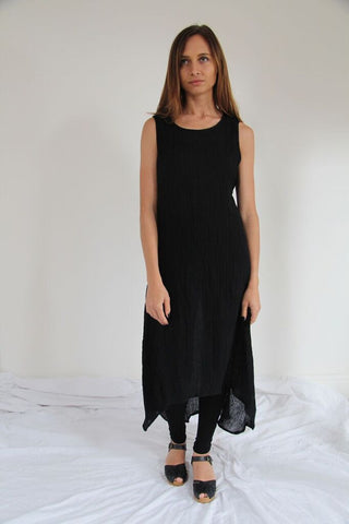 CollardManson Long Linen Dress