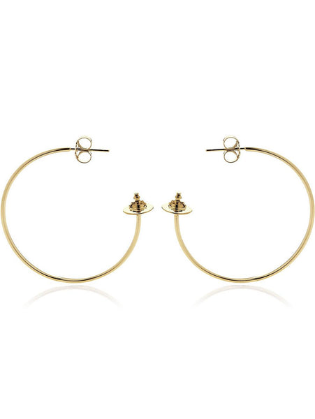 Vivienne Westwood Rosemary Earrings - yellow gold