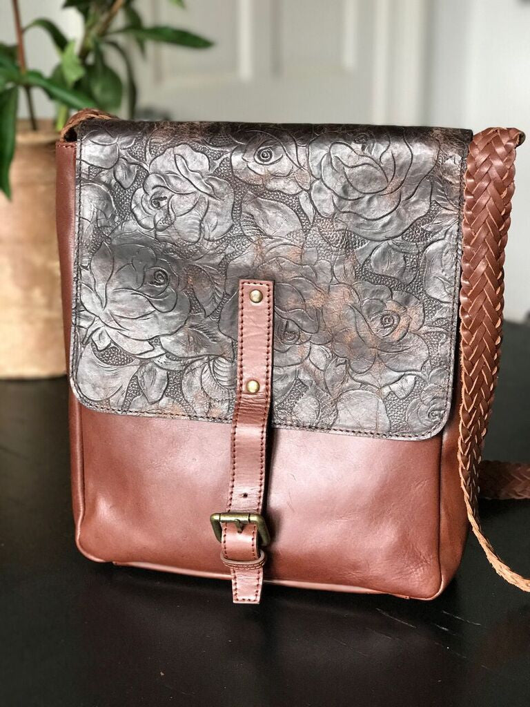 CollardManson Delilah Bag- Burnt Floral