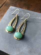 Luna Earrings - Chrysophrase
