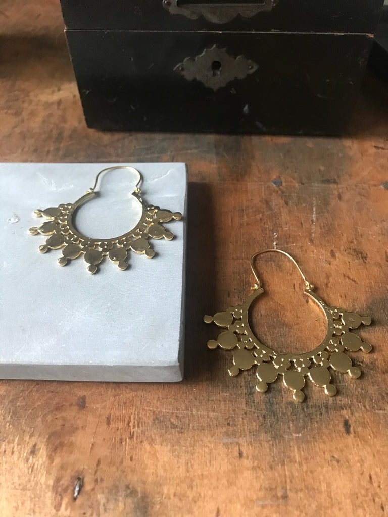 Indali Earrings - Gold