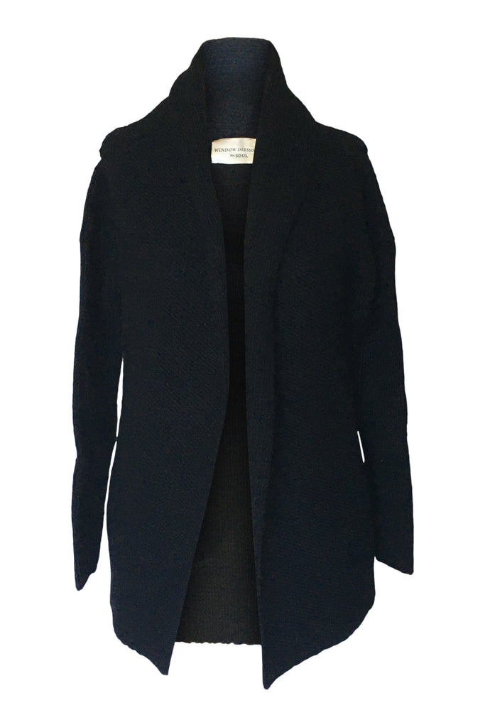 WDTS - Wool knit jacket