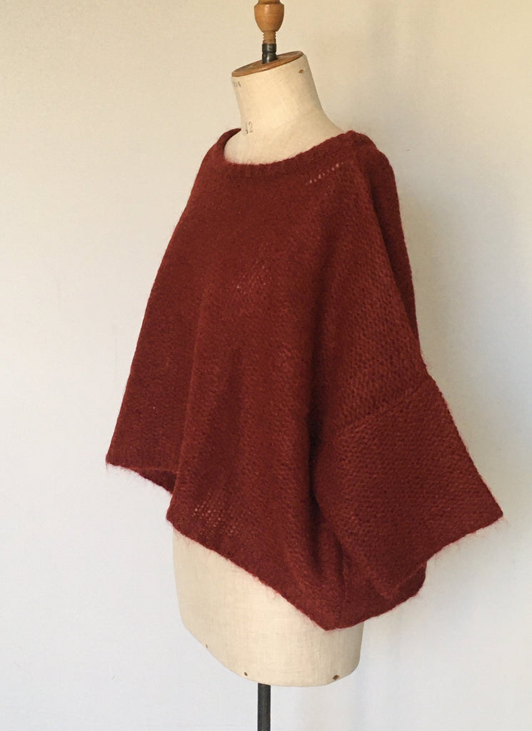 WDTS - Mohair Sweater - Berry