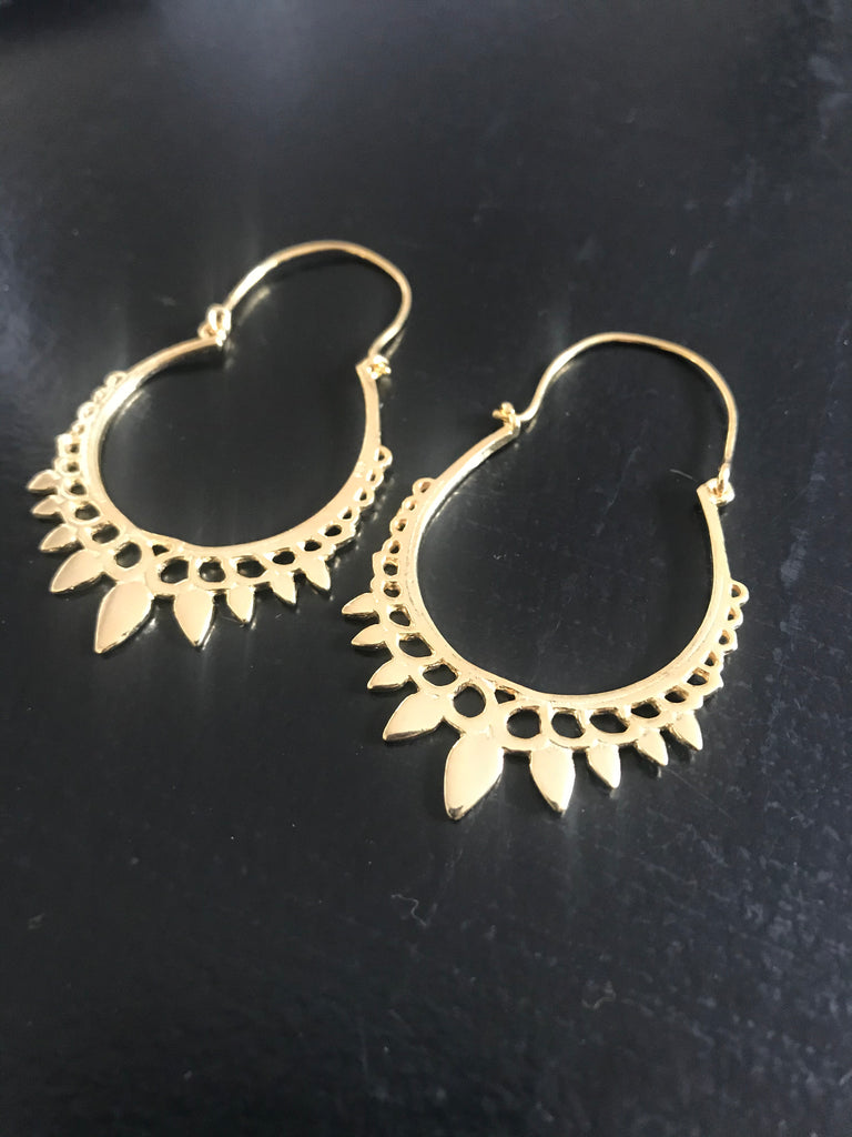 Arya Earrings - gold