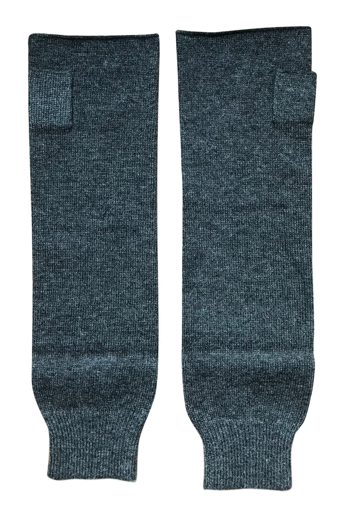 WDTS - Long Arm warmers in charcol wool