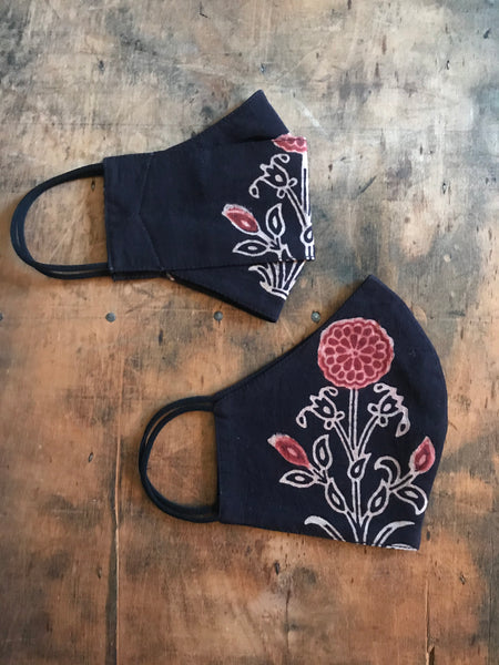 Masks pack of 2 - flower