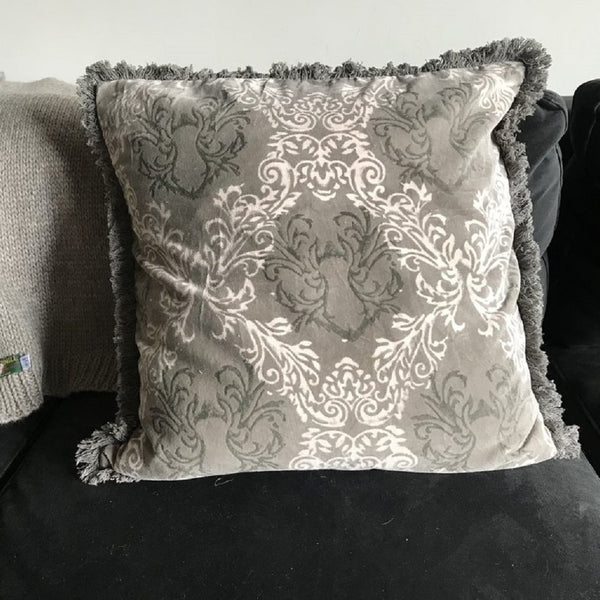 Velvet Printed Cushion - Classic