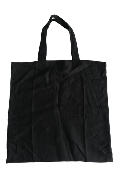 CollardManson Linen Nomad bag Black
