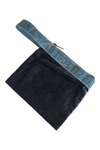 Velvet sling belt pouch - Korean Air