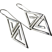 925 Silver Aztec Earrings