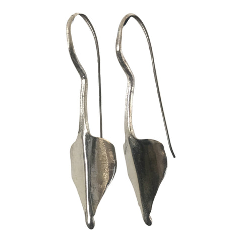 Tribal earrings -  silver