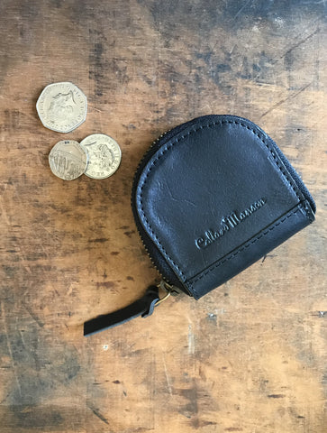 CollardManson Coin Purse- Black