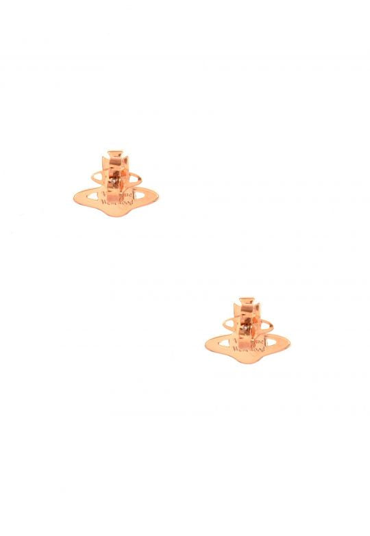 Vivienne Westwood Iris Bas Relief Earrings - Pink Gold